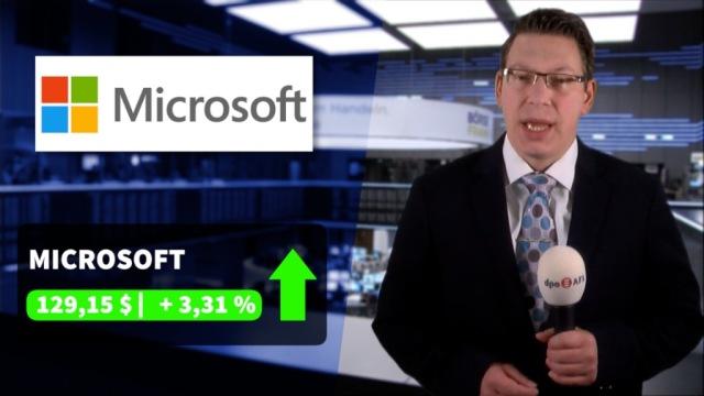 Microsoft erreicht Rekordwert und treibt den Nasdaq-100 an