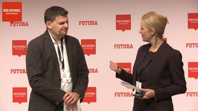Stefan Heumann auf der FUTURA 2018