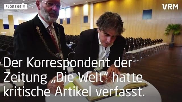 Flörsheim: Deniz Yücel hält Festrede zum Tag der Deutschen Einheit