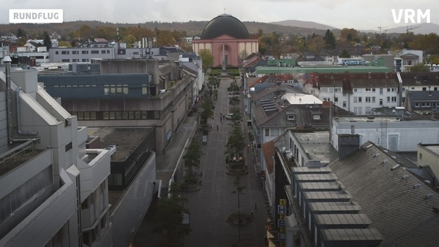 Heimat von oben: Rundflug über Darmstadt