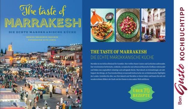 BonGusto Kochbuchtipp: The Taste of Marrakesch