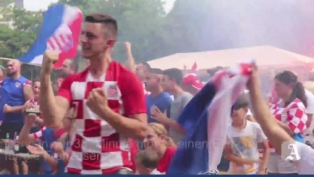 Mainz: Kroaten bangen, leiden und feiern ihr Team