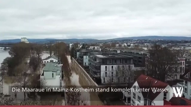 Hochwasser in Wiesbaden