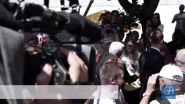 Bundespräsident Steinmeier zu Gast in Gießen