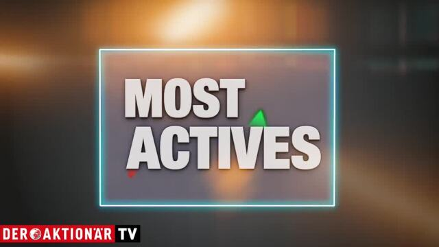 Most Actives: Wirecard, Evotec, Commerzbank