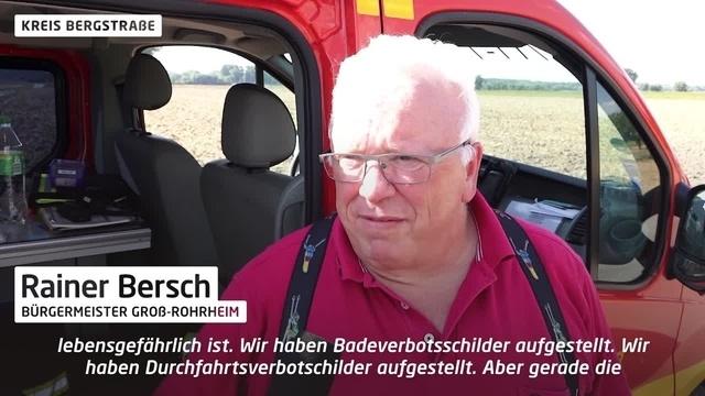 Groß-Rohrheim: 17-Jähriger ertrinkt in Baggersee