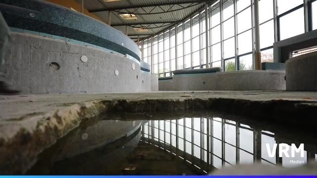 Schwierige Renovierung des Taubertsbergbads