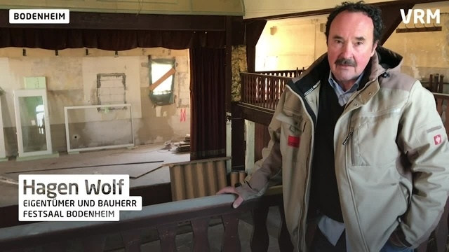 """Bodenheim: Gasthaus """"Zum Rheintal"""" wird umgebaut"""