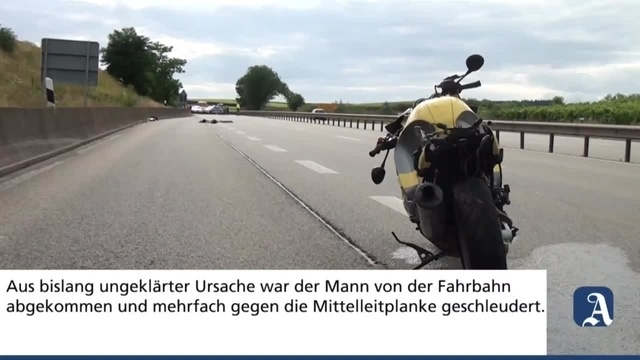 Winzenheim: Motorradfahrer bei Verkehrsunfall auf B41 schwer verletzt