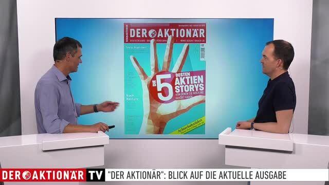DER AKTIONÄR Nr. 28/19: Die fünf besten Aktienstorys