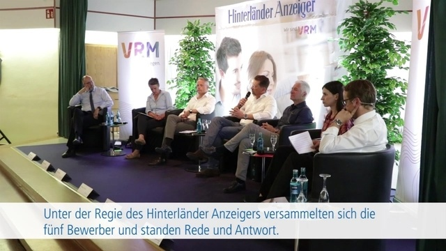 Podiumsdiskussion: Landratswahl in Marburg-Biedenkopf