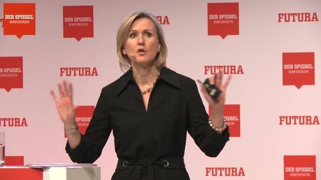 Ann Mettler auf der FUTURA 2018