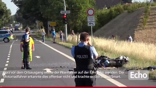 Motorradfahrer nach Unfall bei Darmstadt-Wixhausen gestorben