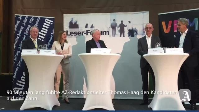AZ-Leserforum zur Bürgermeisterwahl in der VG Bad Kreuznach