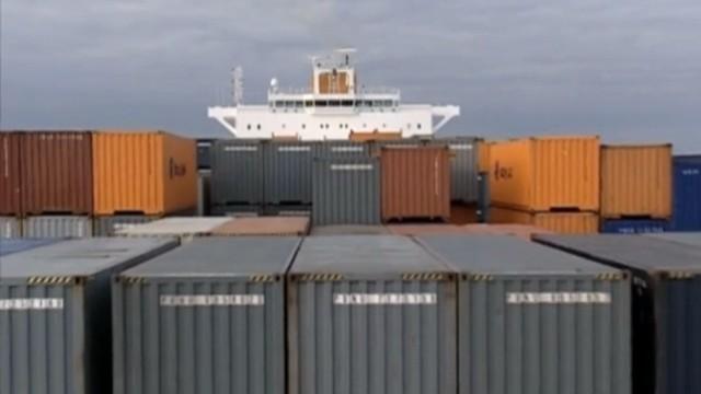 Im Container um die Welt