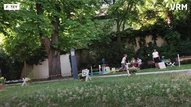 Hobby-Horsing-Turnier in Alzey