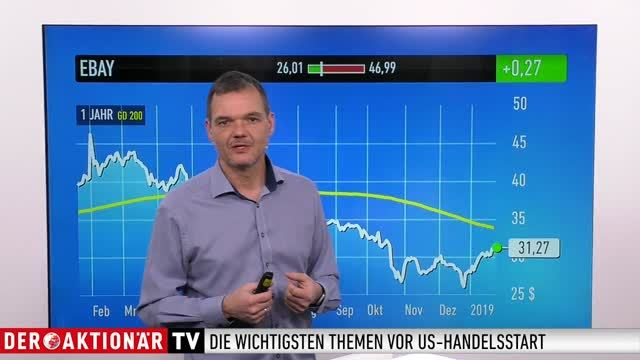 US-Markt: Dow Jones, Halliburton, IBM, Johnson & Johnson, Netflix, Ebay, Tesla