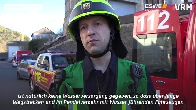Schlangenbad: Waldbrand in Niedergladbach