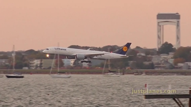 Planespotting in Boston