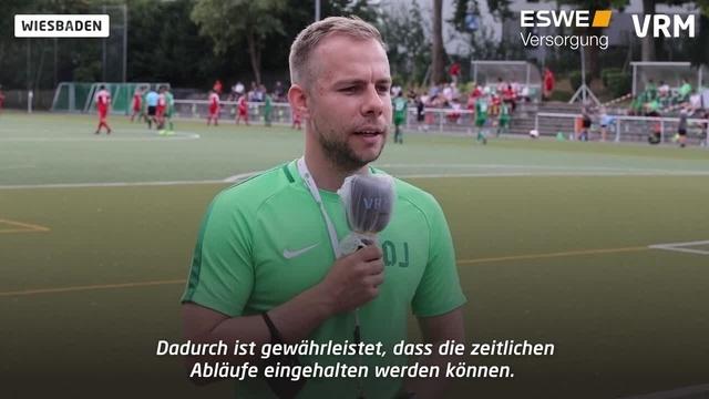 Wiesbaden: Fußball-Testspiel unter Corona-Auflagen