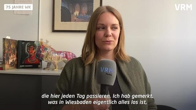 75 Jahre Wiesbadener Kurier Lisa-Marie Christ