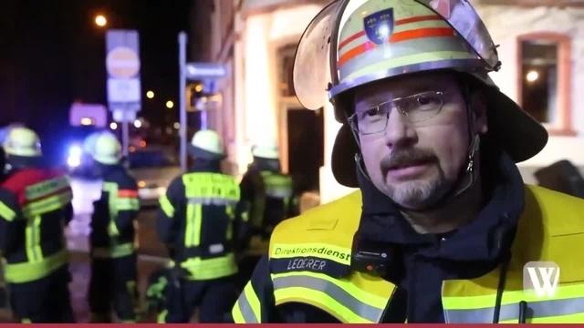 Wiesbaden: Drei Verletzte bei Brand in der Walramstraße