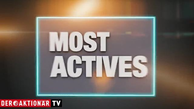Most Actives - Wirecard, Geely und SAP