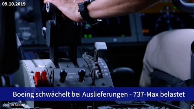 Aktie im Fokus: Boeing schwächelt bei Auslieferungen - 737-Max belastet