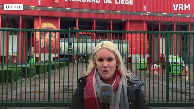 Eintracht Frankfurt (fast) ohne Fans in Lüttich