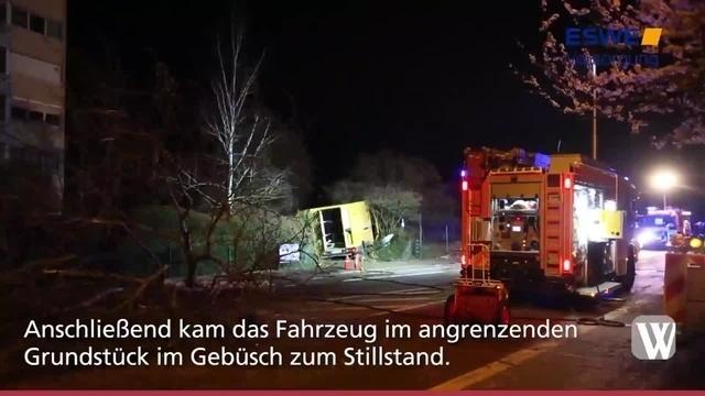 Kostheim: Schwerer Unfall unter Alkoholeinfluss