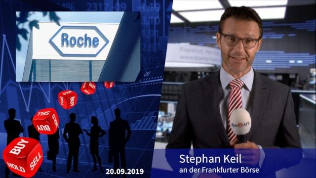 Analyser to go: Societe Generale stuft Roche hoch - Mehr Zuversicht