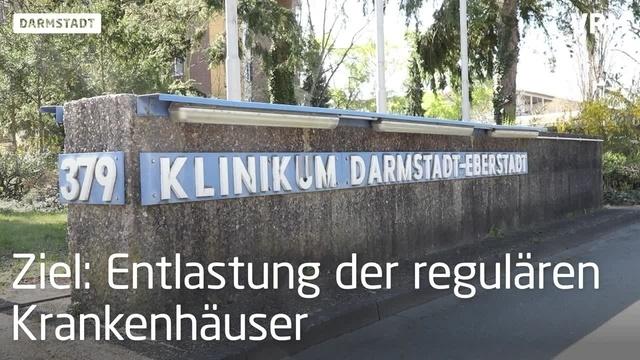 Darmstadt reaktiviert frühere Klinik in Eberstadt