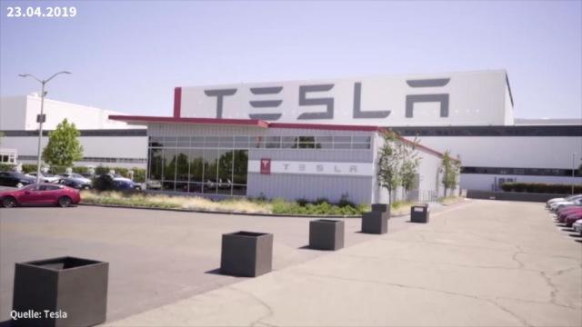 Aktie im Fokus: Tesla-Auto brennt, Musk motzt, Aktie fällt