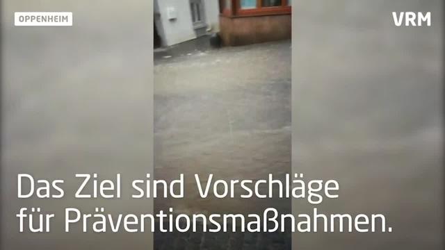 Präventionsmaßnahmen gegen Starkregen in Oppenheim