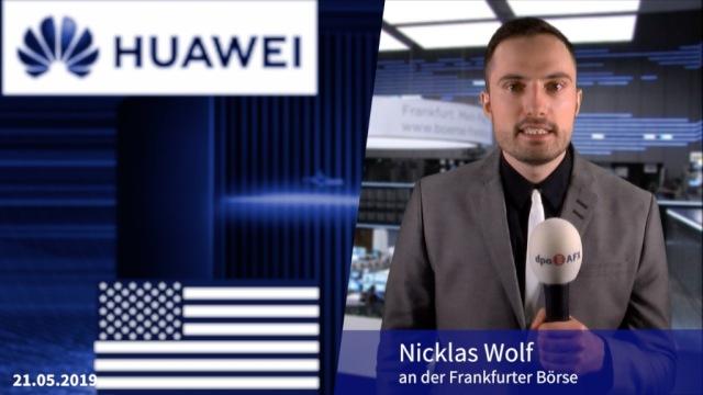 90 Tage Aufschub für US-Maßnahmen gegen Huawei