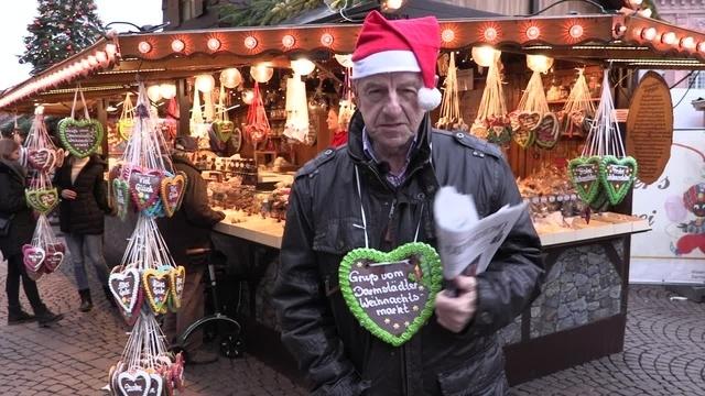Der Breeweldibbe auf dem Weihnachtsmarkt