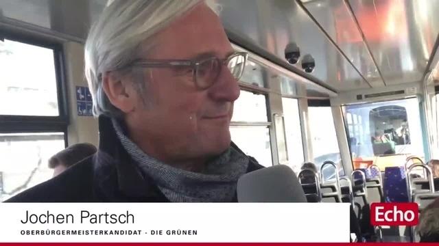 Straßenbahn-Interview zur Darmstädter OB-Wahl mit Jochen Partsch (Grüne)