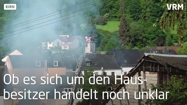 Historisches Fachwerkhaus in Kirn brennt - ein Toter