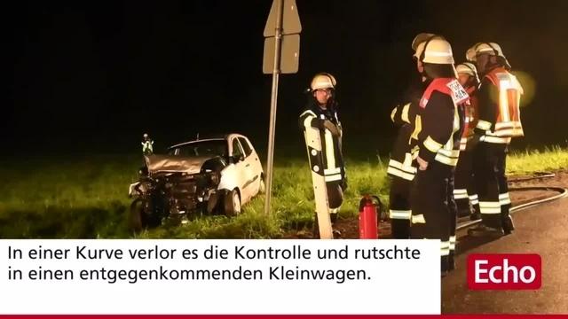 Schwerer Unfall auf der K 53 bei Fürth
