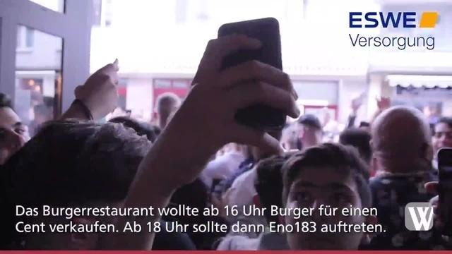 Wiesbaden: Konzert mit Rapper Eno183 abgebrochen