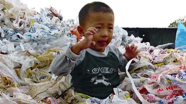 Unser Plastikmüll in China