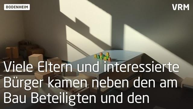 Kita Mühlbachstörche in Bodenheim eröffnet