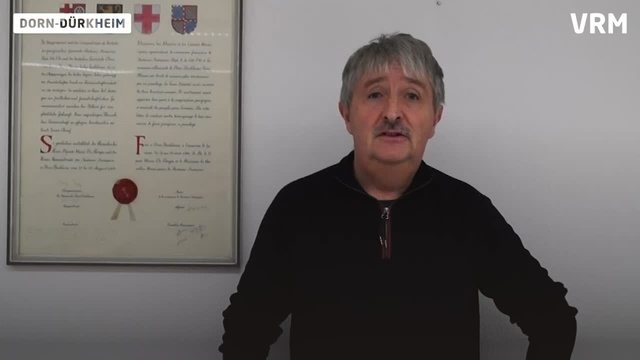 Dorn-Dürkheims Bürgermeister im Gespräch