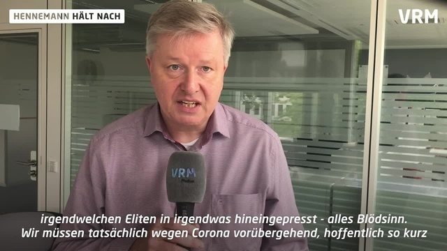 Hennemann hält nach: Corona als Anlass für den Umsturz