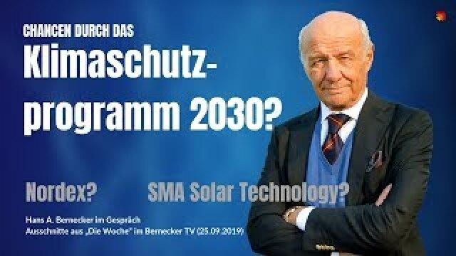 Klimaschutzprogramm als Rückenwind für Nordex und SMA Solar Technology?