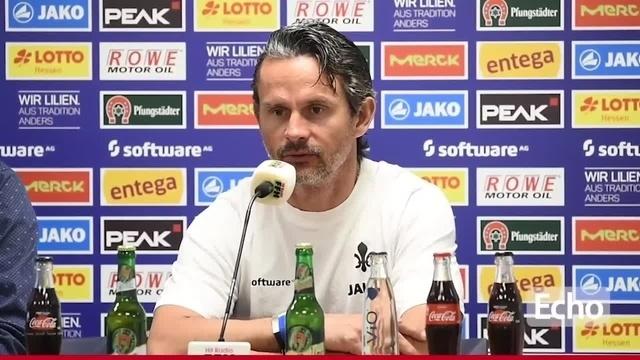 Vor dem Spiel des SV Darmstadt 98 gegen Erzgebirge Aue