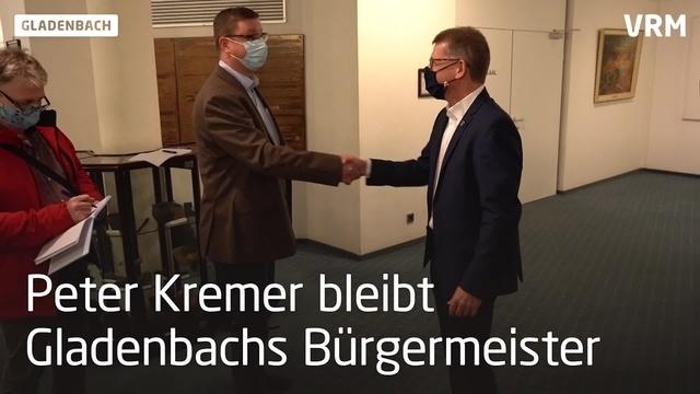 Peter Kremer siegt in Gladenbach knapp in der Stichwahl