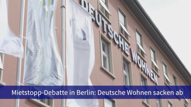 Aktie im Fokus: Deutsche Wohnen sacken weiter ab