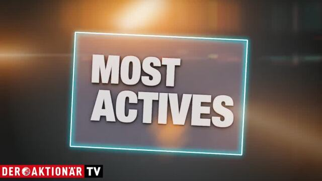 Most Actives: Ballard Power, Varta, Wirecard