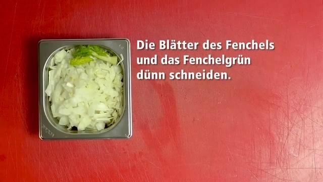 Frisch vom Markt mit Ralph Schüller: Marinierter Fenchel mit Blutorangen
